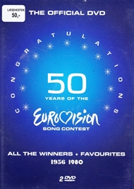 50 years og the Euro vision song contest 1956-1980 (DVD)