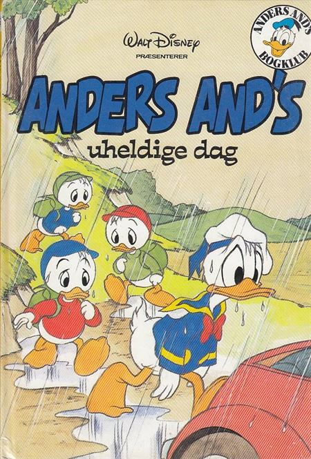 Anders And\'s uheldige dag - Anders And\'s bogklub