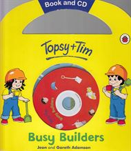 Topsy and Tim - Busy Builders (Lydbog)