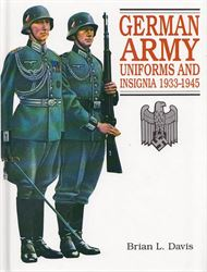 German Army uniforms and insignia 1933-1945 (Bog)