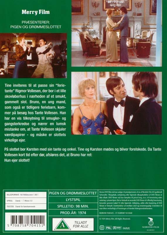 pigen og drømmeslottet dvd