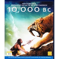 10.000 BC and The bucket list 2film (Blu-ray)