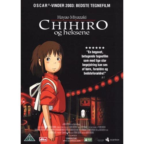 chihiro og heksene dvd